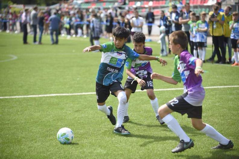 Ittipolchana Kaewsawad- Young Footballer representing Thailand at the Football for Friendship Porgramme in Russia